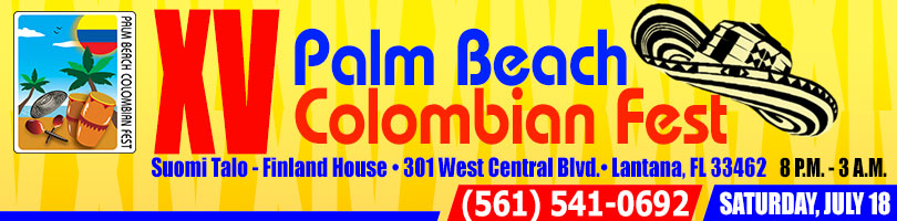 2015 Palm Beach Colombian Fest